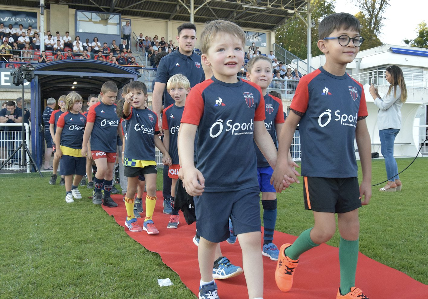 RUGBY: The presentation of the Stade Dijonnais groups in photos