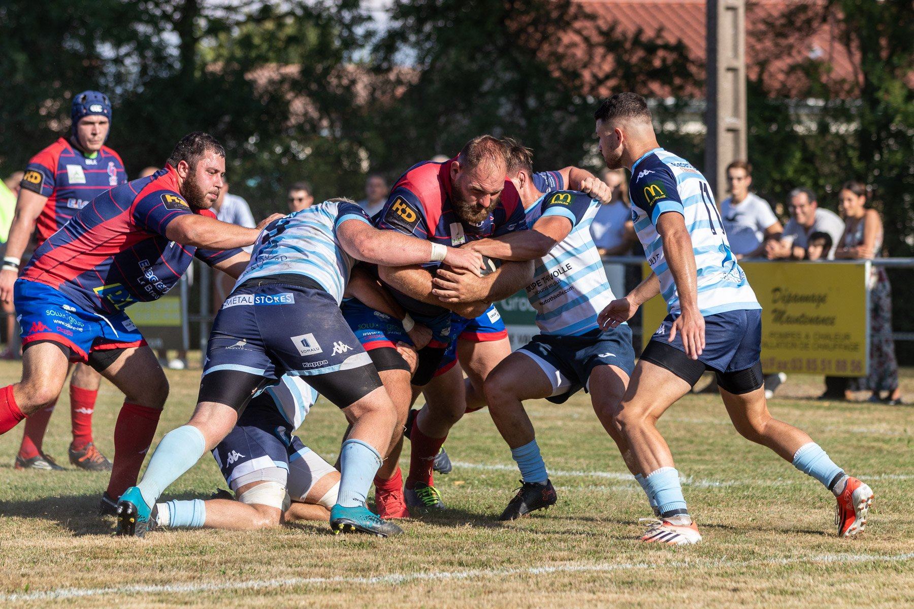 RUGBY (Federal 2, pleasant): Villefranche too potent for Le Creusot