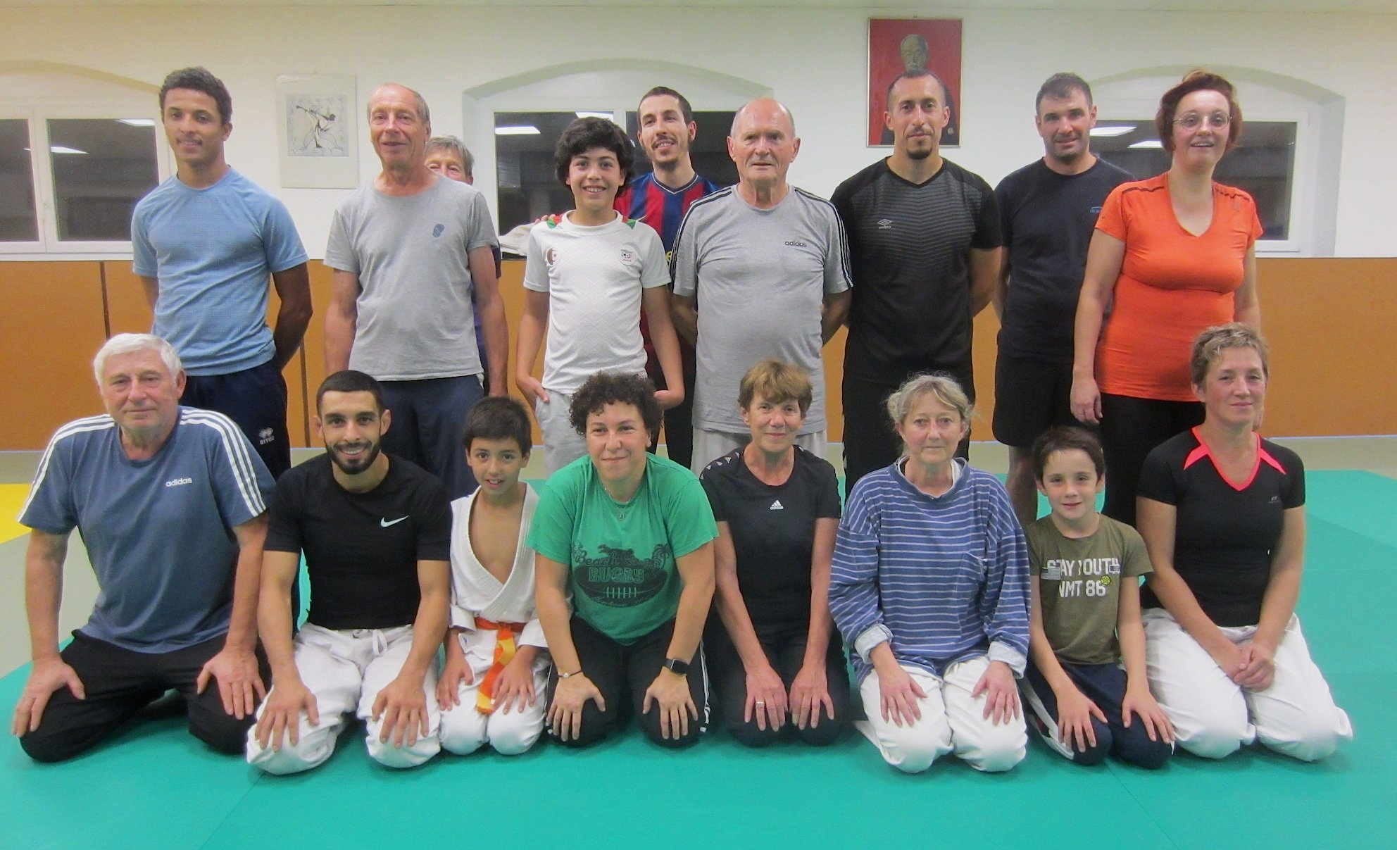 LE CREUSOT: Discovering Taïso on the judo membership