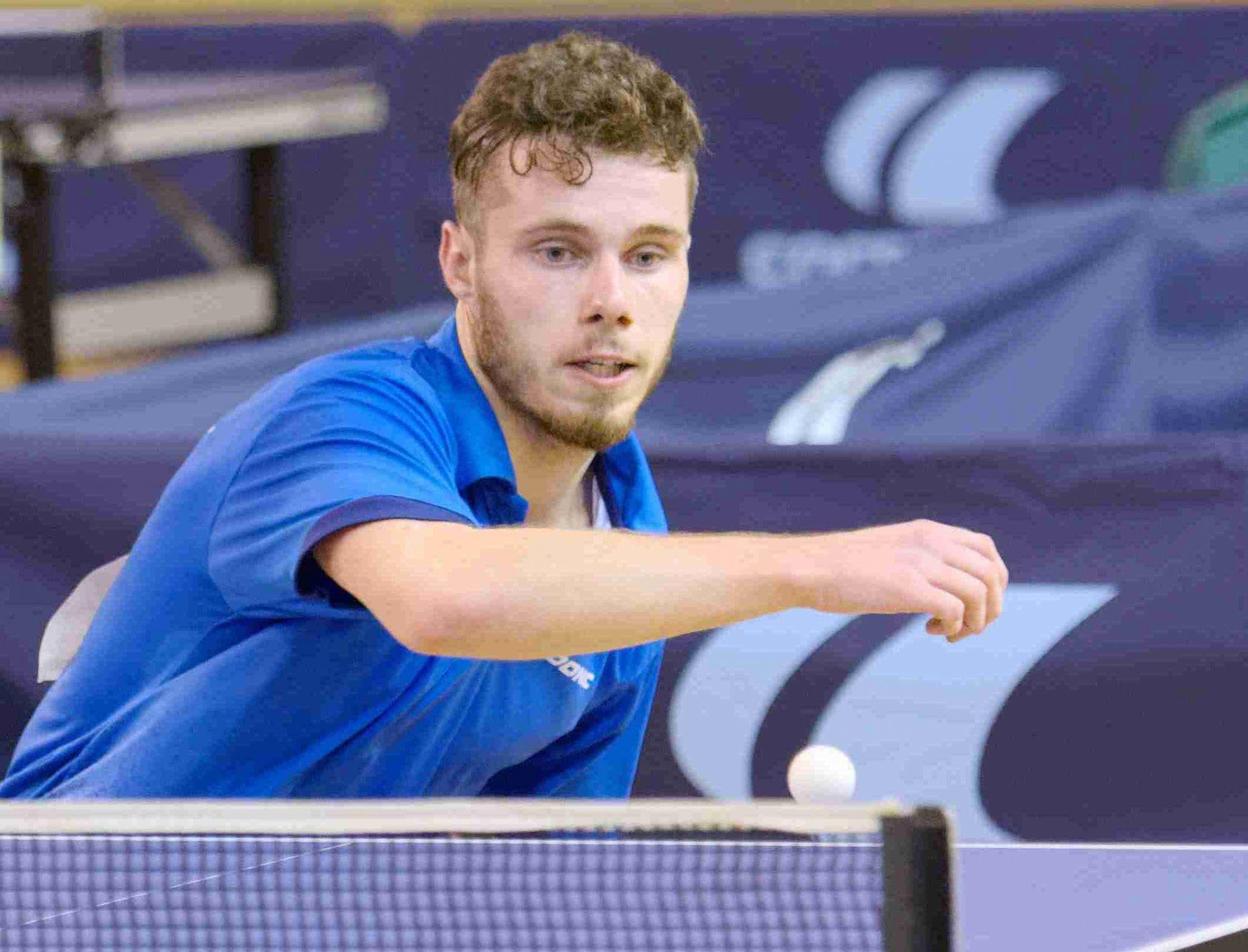 Desk tennis (Critérium Nationale 1): Esteban Dorr (Metz) wins at Le Creusot in Seniors Males A