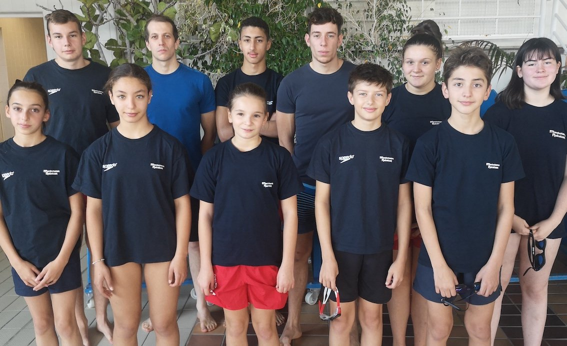 Good introduction for Montchanin Natation swimmers.