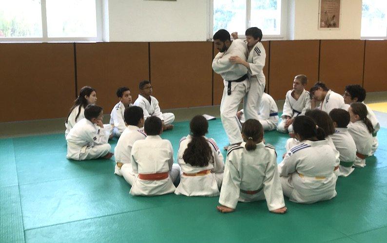 LE CREUSOT: a cohesion course for younger judokas