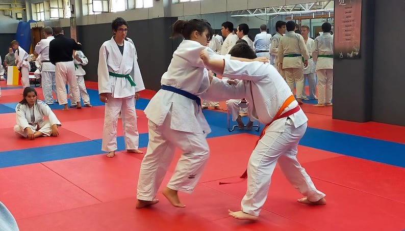 LE CREUSOT: Live from the judo club